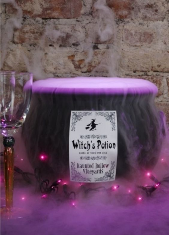halloween-punch-with-dry-ice