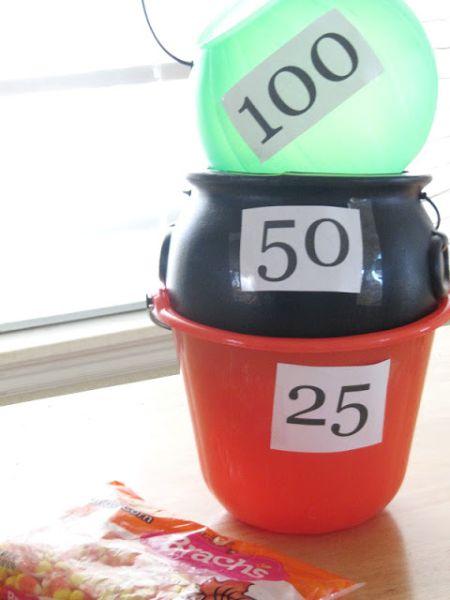 Candy Corn Toss Preschool Game Idea
