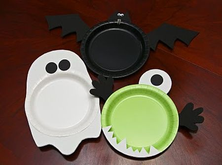 Spooky Preschool Halloween Masks & Preschool Halloween Crafts