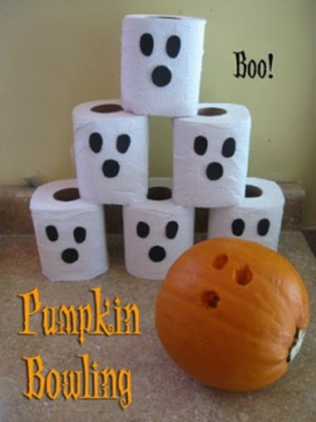 Ghostly Bowling Halloween Kids Games