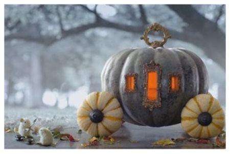 Carriage Halloween Pumpkin Carving Ideas