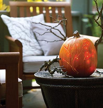 Stylish Halloween Pumpkin Carving Ideas