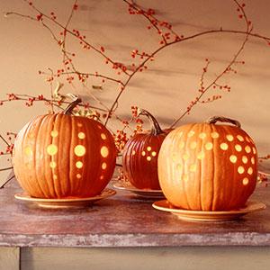 Contemporary Halloween Pumpkin Carving Ideas