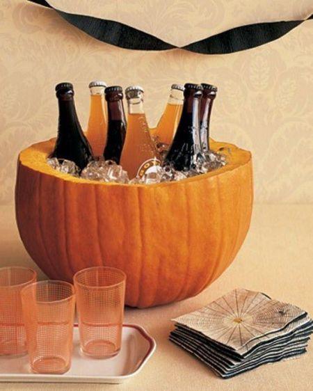 Cooler Halloween Pumpkin Carving Idea