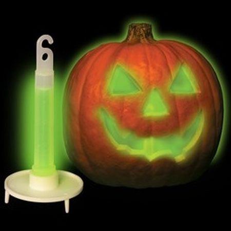 Glowing Halloween Pumpkin Carving Ideas