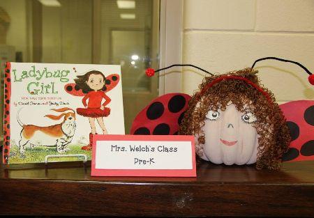 Ladybug Halloween Pumpkin