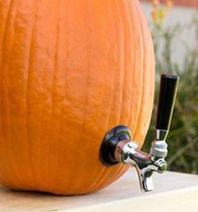 Pumpkin Beverage Dispenser