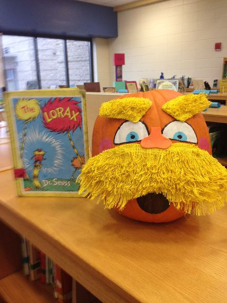 The Lorax Halloween Pumpkin : winning pumpkin decorating ideas - www.pureclipart.com
