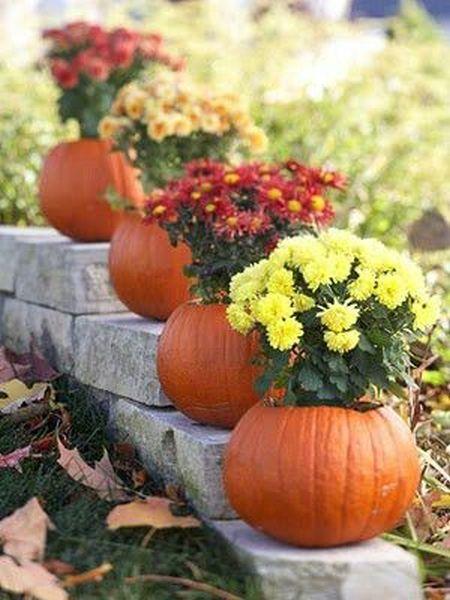 Vase Halloween Pumpkin Carving Idea