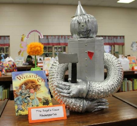 Tin Man Halloween Pumpkin