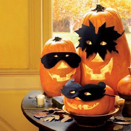 Disguised Halloween Pumpkin Carving Ideas