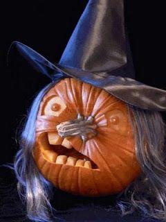 Witch Halloween Pumpkin Carving Ideas