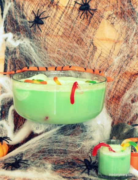 Worm Infested Halloween Party Punch