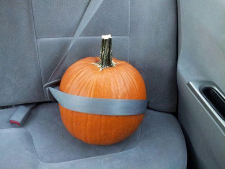 Pumpkin Halloween Safety Tips