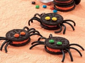 Halloween Spider Oreos