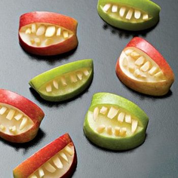 Apple Slice Halloween Treats For Kids