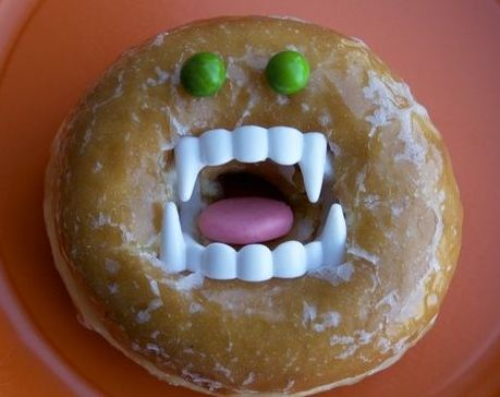 Doughnut Halloween Treats For Kids