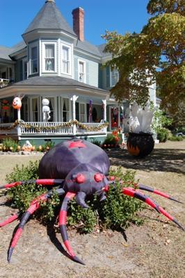 Inflatable Spider Halloween Yard Decoration