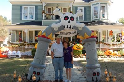 Enter If You Dare Halloween Yard Decoration