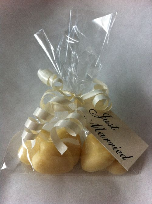 Handmade Chocolate Wedding Favor Bag