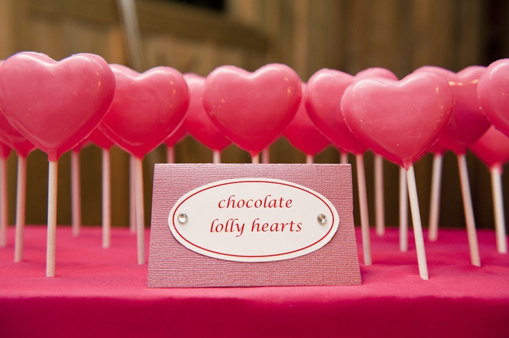 Heart Handmade Chocolate Wedding Favors
