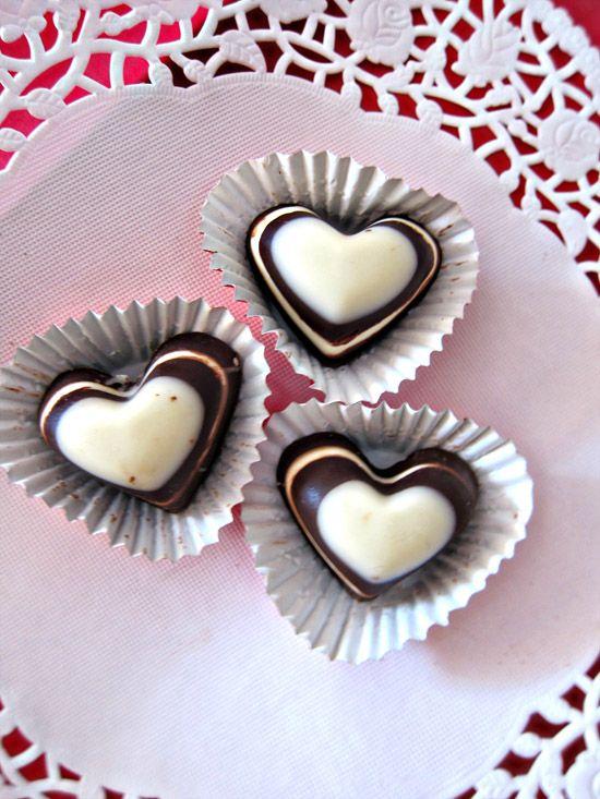 Handmade Chocolate Wedding Favor Thank You