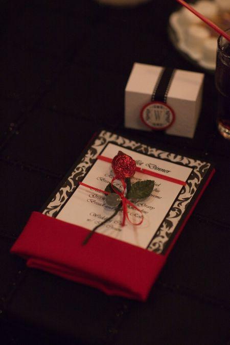 Hershey Kiss Rose Favor Presentation