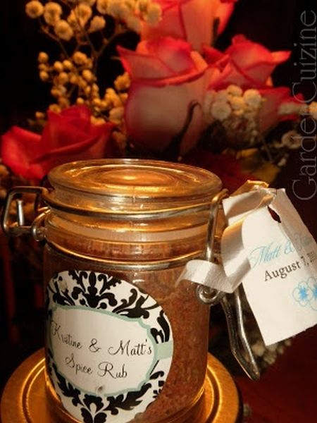 Ideas For Homemade Wedding Favors With Spices