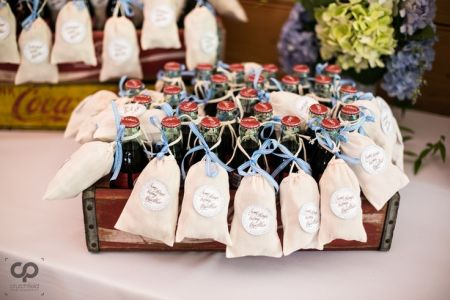 New Idea for Homemade Wedding Favors