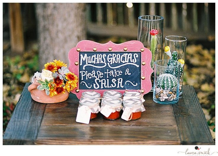 Salsa Idea For Homemade Wedding Favors