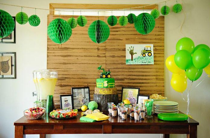 John Deere Party Decoration Ideas Elitflat
