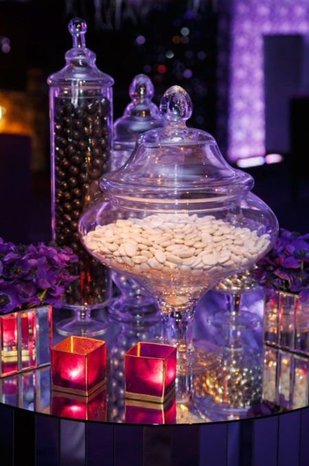 Wedding Bar With Jordan Almonds