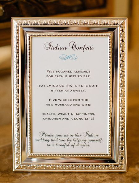 Jordan Almond Wedding Favor History