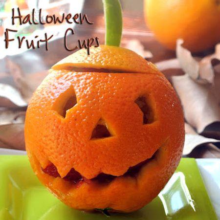Halloween Orange-O-Lanterns