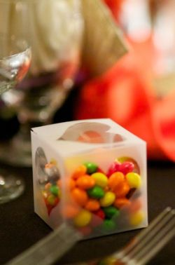 M&Ms Wedding Favors