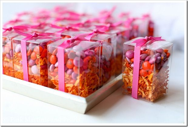 Boxed M Ms Wedding Favors