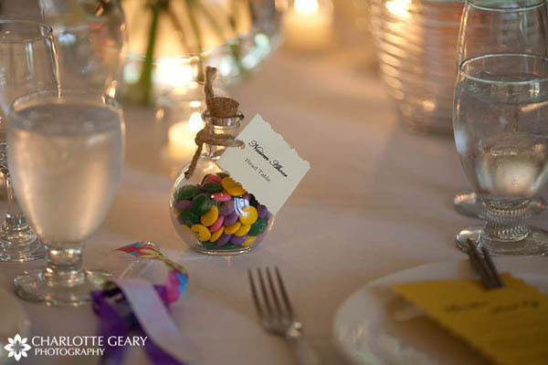Charming M And Ms Wedding Favors