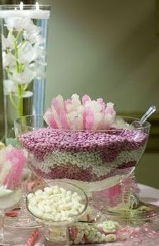 M&M Wedding Favors Punch Bowl