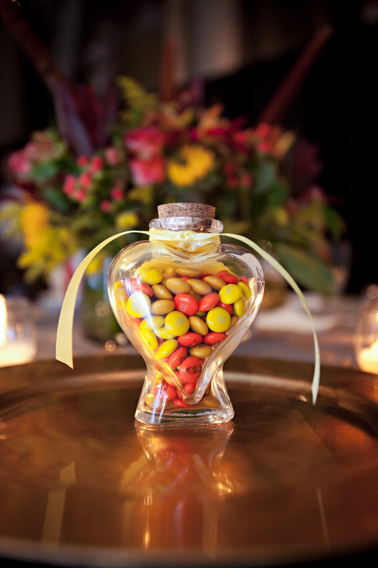 M&Ms Wedding Favors Idea