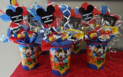 Mickey mouse party giveaways
