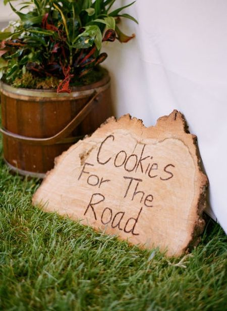 Creative Wedding Cookie Signage