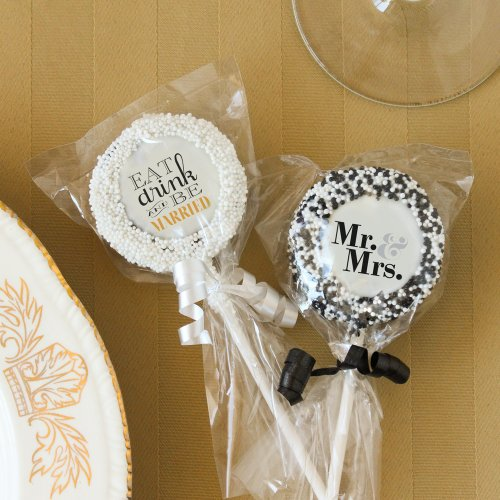 Oreo Cookie Favors Lollipops