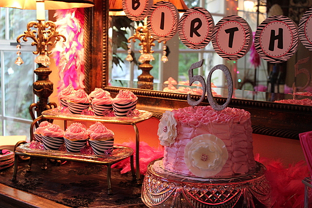 Planning A 50th Birthday Party Tablescape