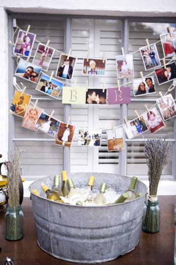 Planning A 50th Birthday Party Beverage Station