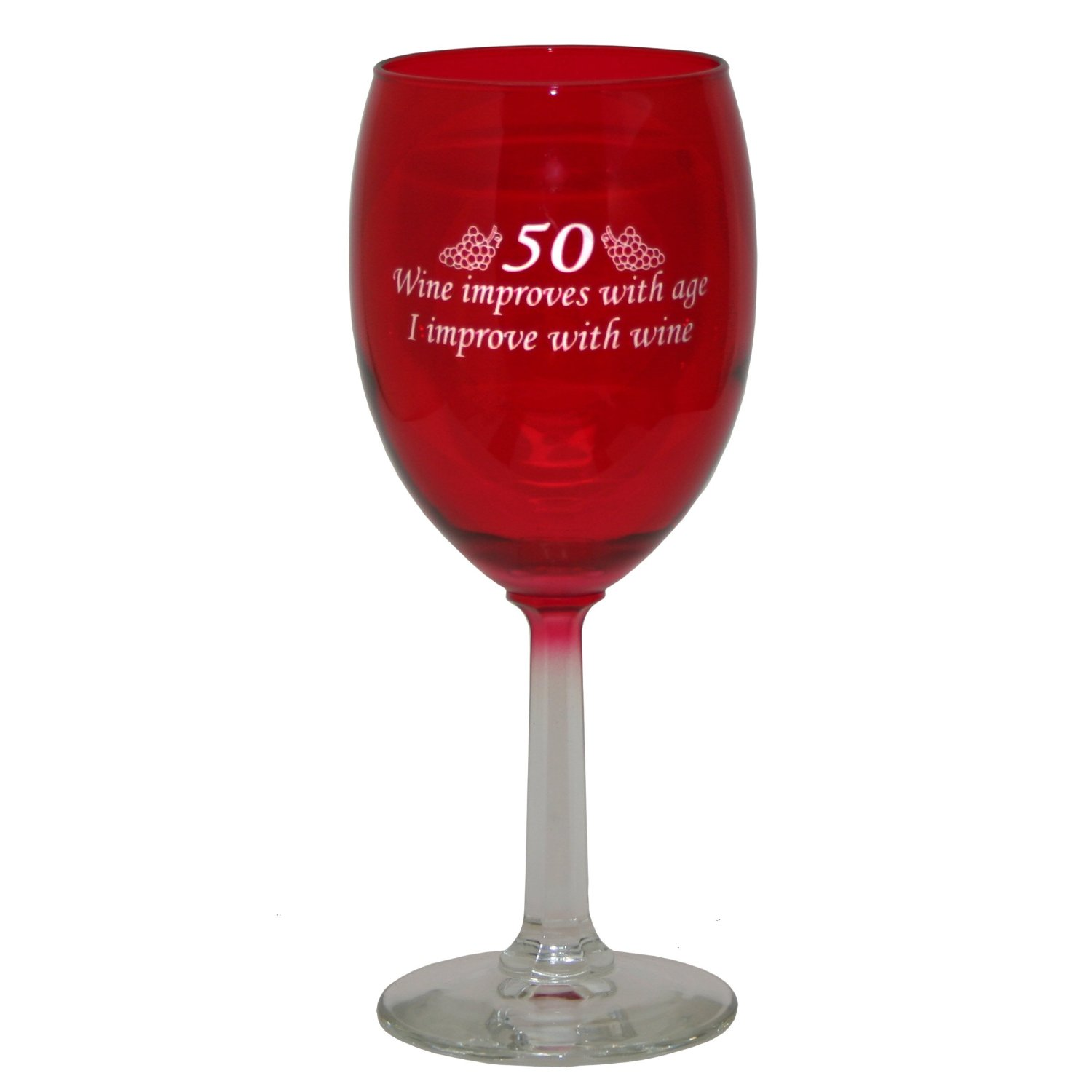 Planning A 50th Birthday Party Wine Glass Favor