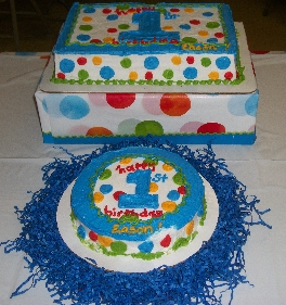 First Boy Birthday Cake And Smash Cake