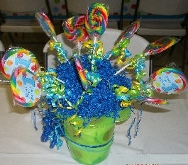 First Boy Birthday Centerpiece