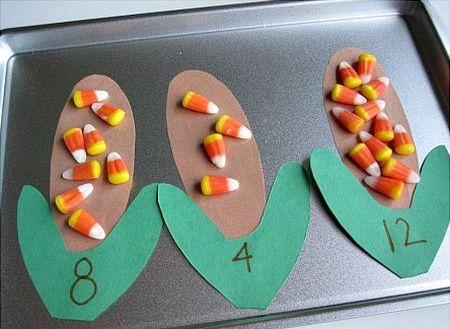 Counting Preschool Halloween Craft