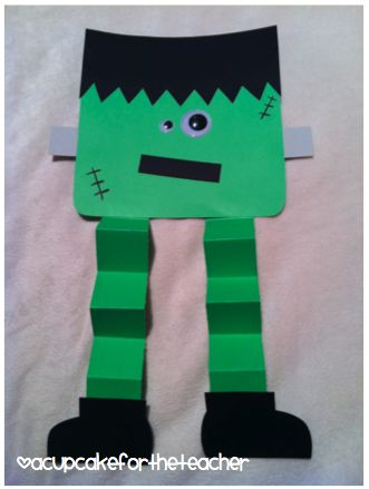 Frankenstein Preschool Halloween Crafts