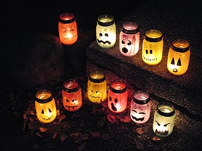 Halloween Inspired Luminaries